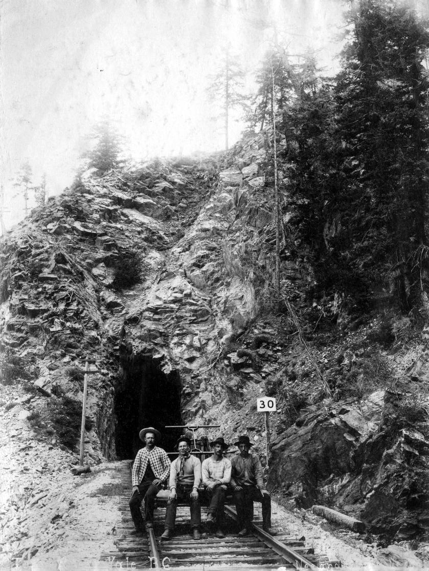 Tunnel Near Yale