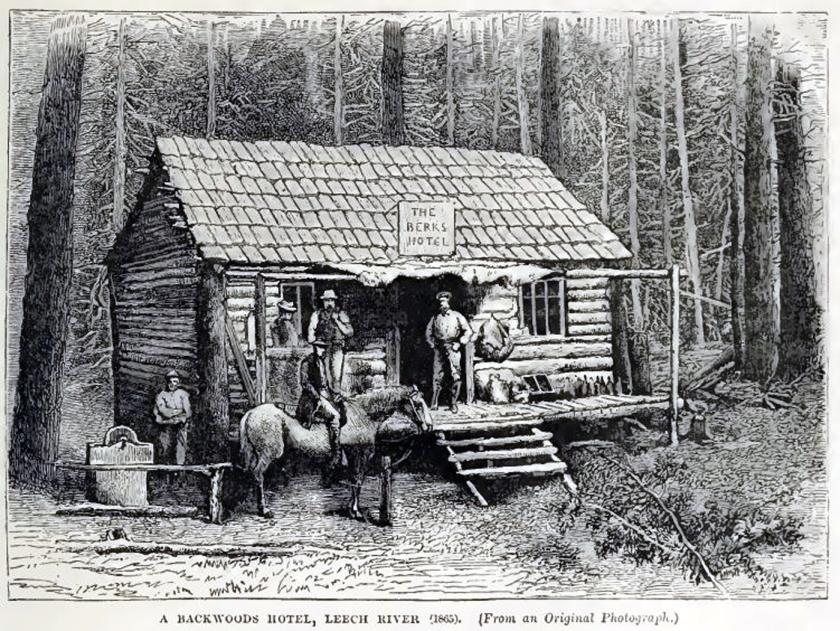 leech river berks hotel (1868)